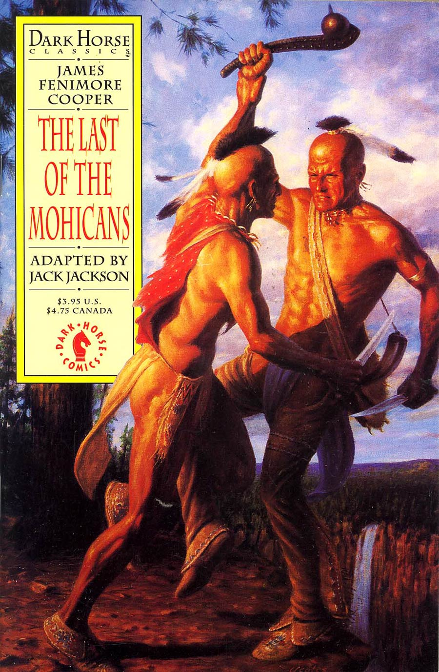 Dark Horse Classics The Last Of The Mohicans