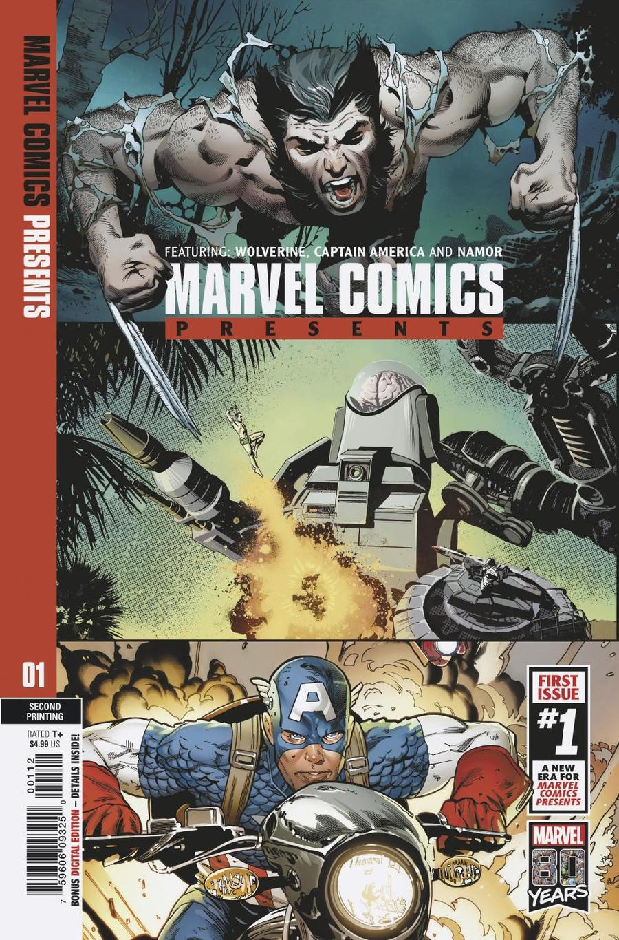 Marvel Comics Presents Vol 3 #1 Cover F 2nd Ptg Variant Greg Land Cover