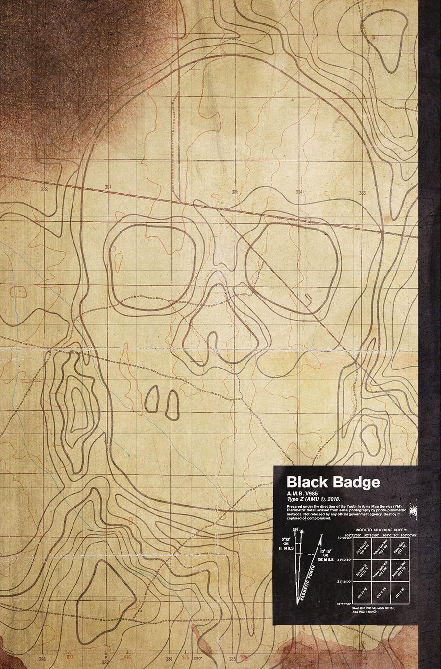 Black Badge #7 Cover C Variant Jay Shaw Cover