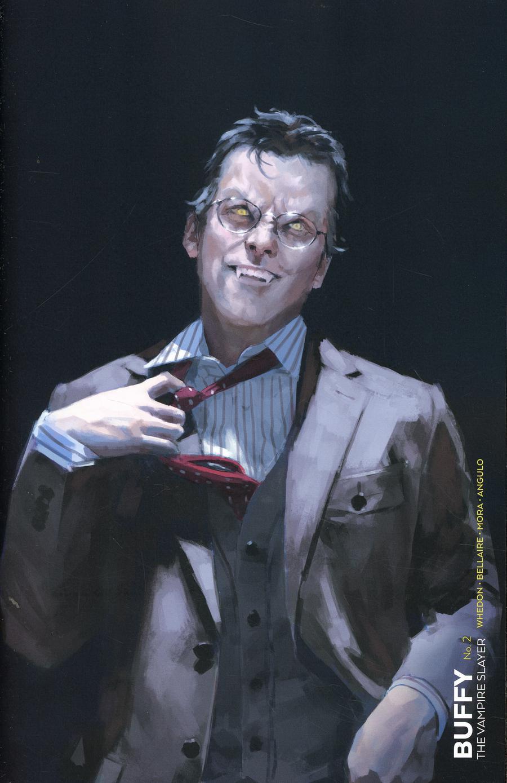 Buffy The Vampire Slayer Vol 2 #2 Cover F Variant Miguel Mercado Vampire Cover