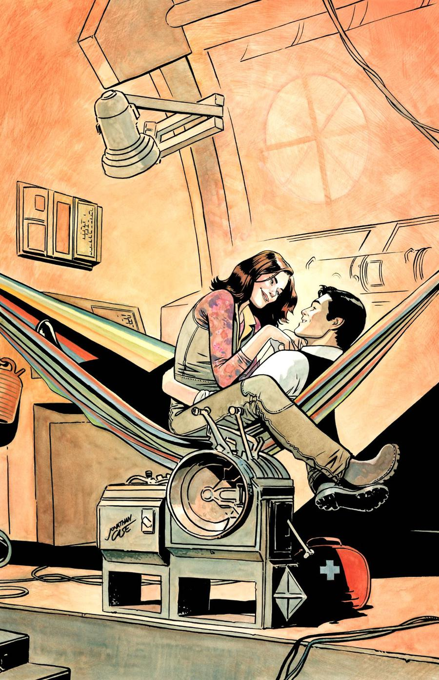 Firefly #4 Cover C Variant Jonathan Case Cover