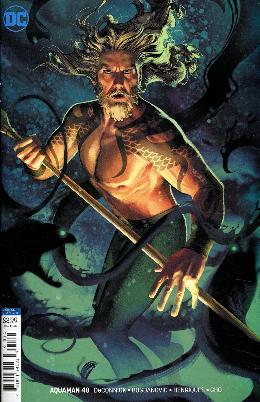 Aquaman Vol 6 #48 Cover B Variant Joshua Middleton Cover