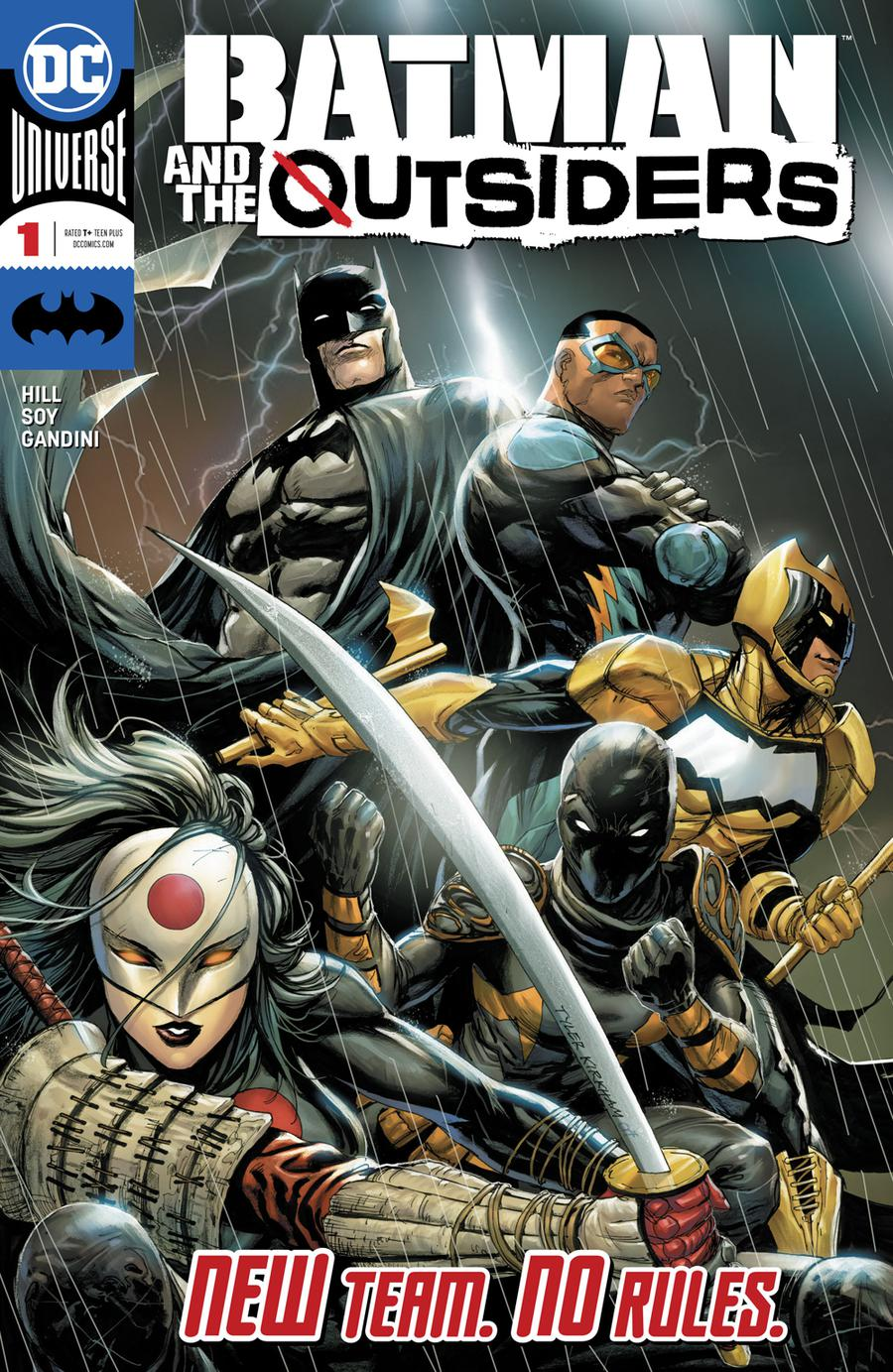 Batman And The Outsiders Vol 3 #1 Cover A Regular Tyler Kirkham Cover