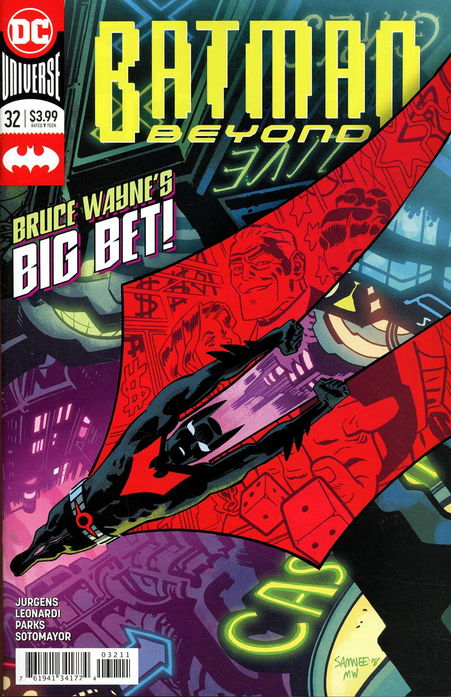 Batman Beyond Vol 6 #32 Cover A Regular Chris Samnee Cover
