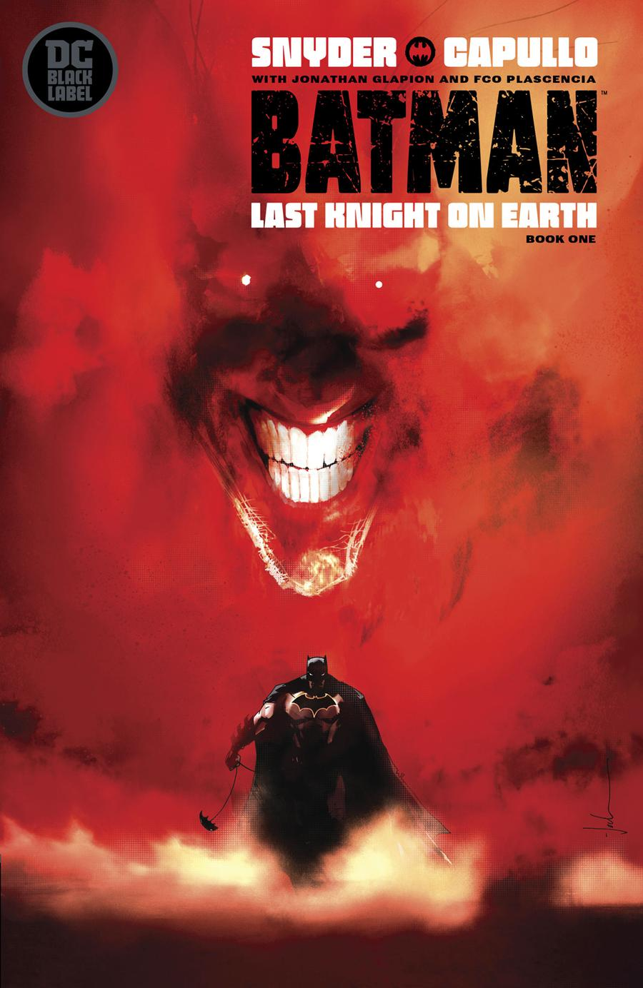 Batman Last Knight On Earth #1 Cover B Variant Jock Cover