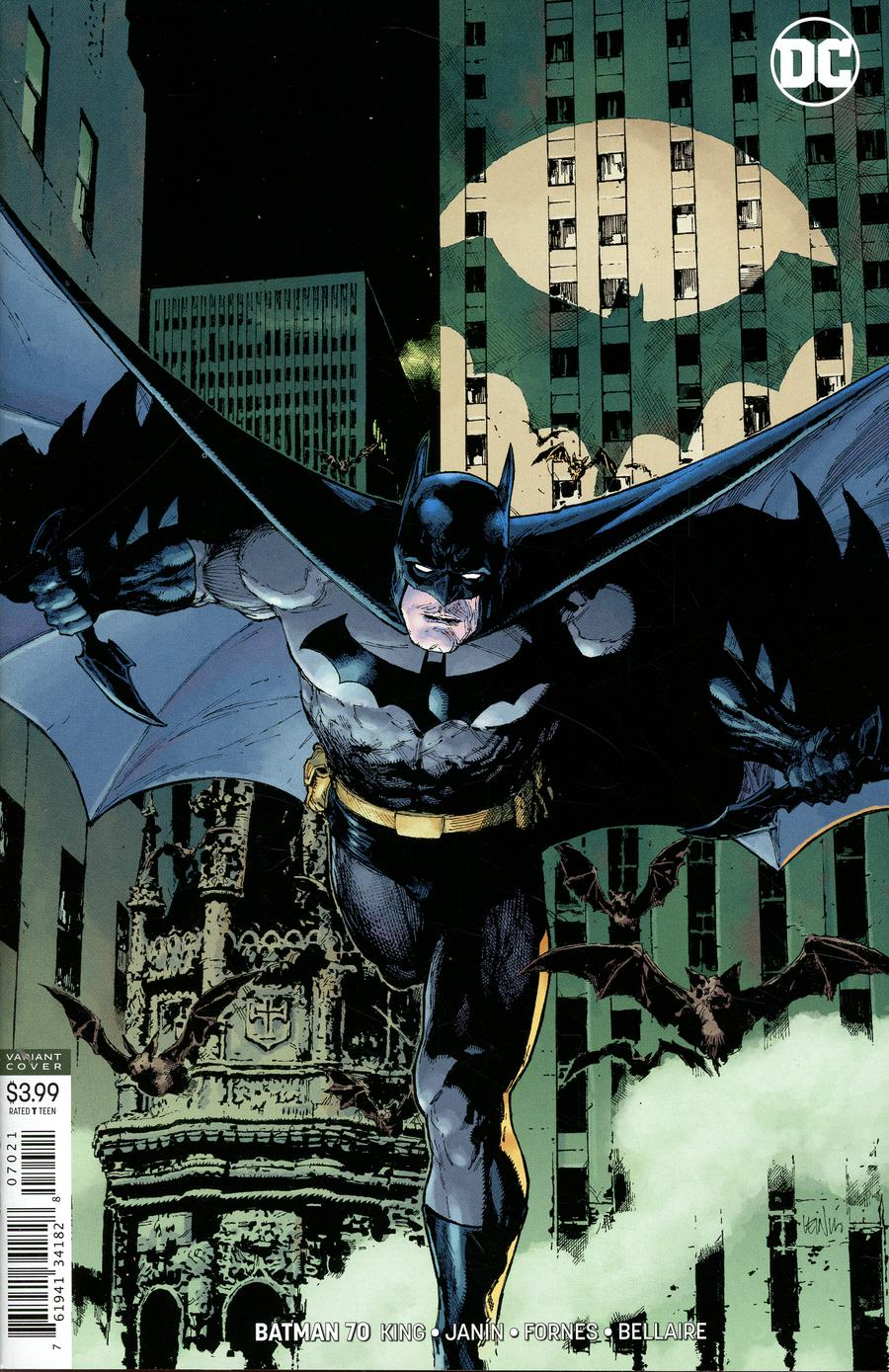 Batman Vol 3 #70 Cover B Variant Leinil Francis Yu Cover