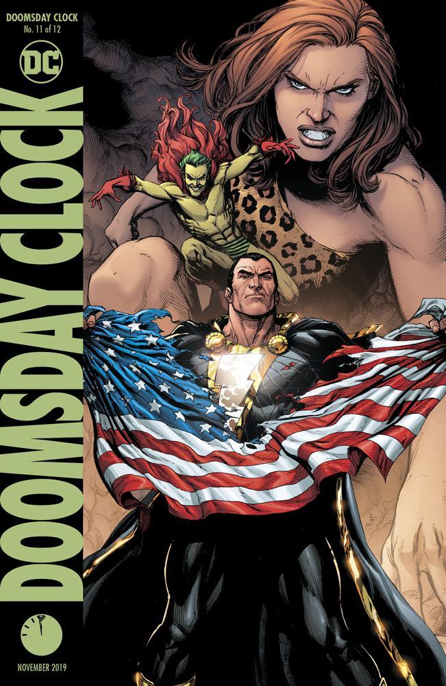 Doomsday Clock #11 Cover B Variant Gary Frank Cover