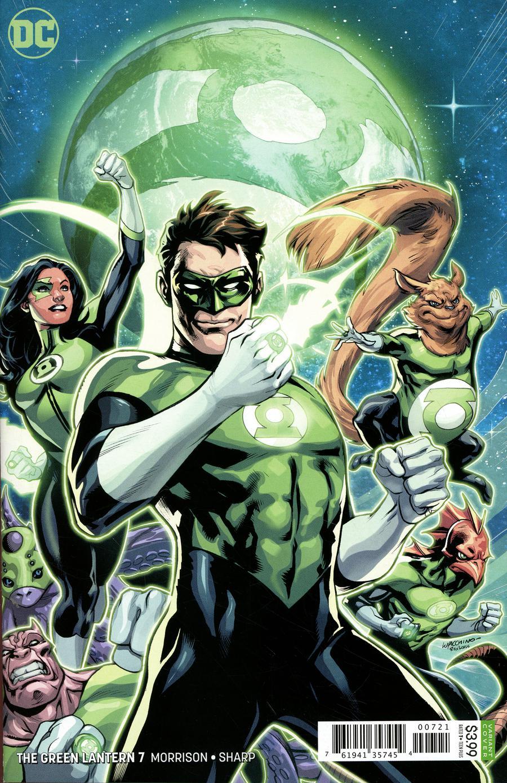Green Lantern Vol 6 #7 Cover B Variant Emanuela Lupacchino Cover
