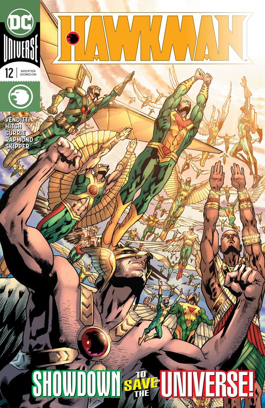 Hawkman Vol 5 #12 Cover A Regular Bryan Hitch Cover