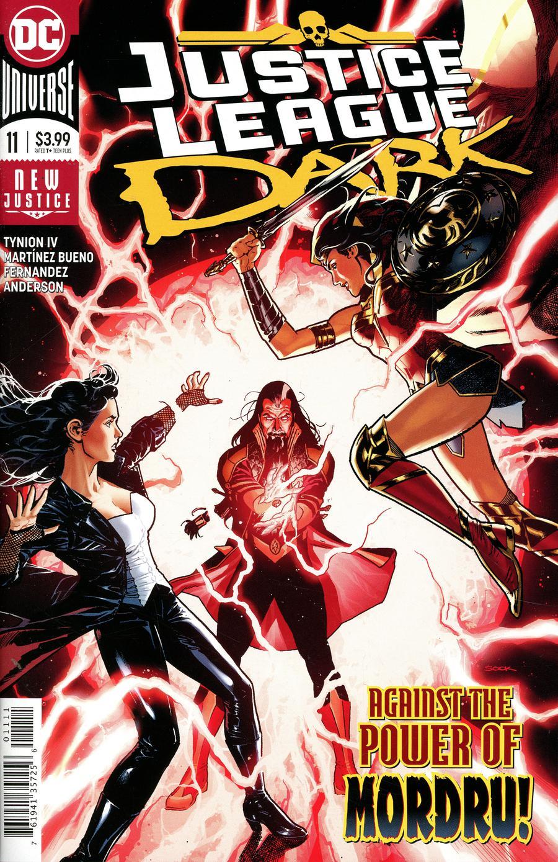 Justice League Dark Vol 2 #11 Cover A Regular Ryan Sook Cover