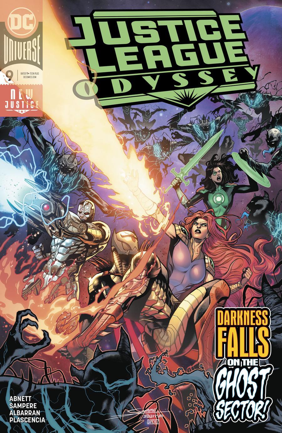 Justice League Odyssey #9 Cover A Regular Daniel Sampere & Juan Albarran Cover