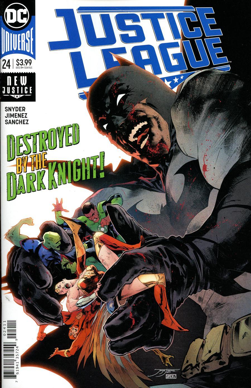 Justice League Vol 4 #24 Cover A Regular Jorge Jimenez Cover