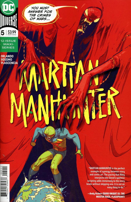 Martian Manhunter Vol 5 #5 Cover A Regular Riley Rossmo Cover