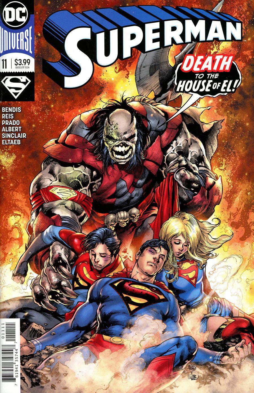 Superman Vol 6 #11 Cover A Regular Ivan Reis & Joe Prado Cover