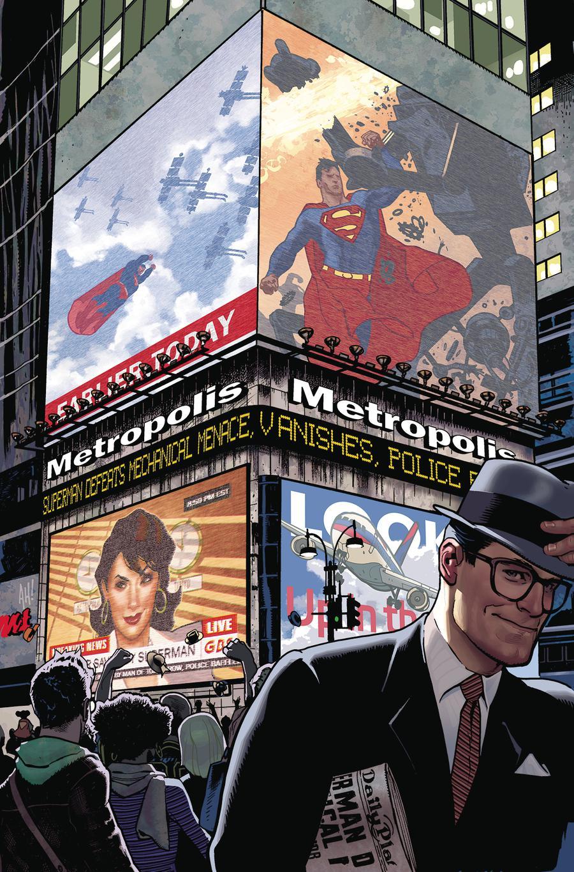 Superman Vol 6 #11 Cover B Variant Adam Hughes Cover