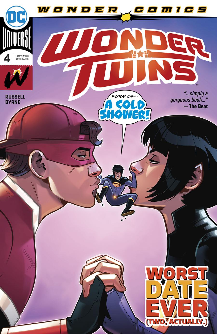 Wonder Twins #4 Cover A Regular Stephen Byrne Cover