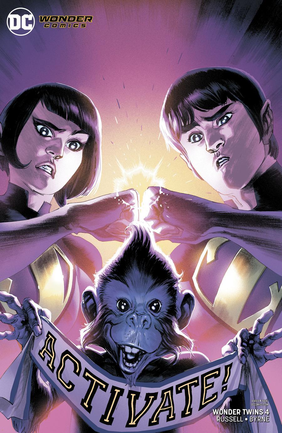 Wonder Twins #4 Cover B Variant Rafael Albuquerque Cover