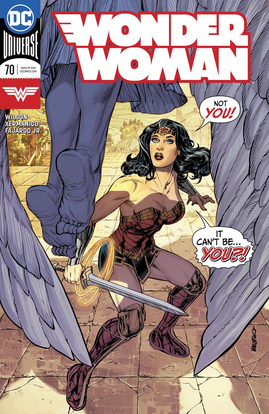 Wonder Woman Vol 5 #70 Cover A Regular Terry Dodson & Rachel Dodson Cover