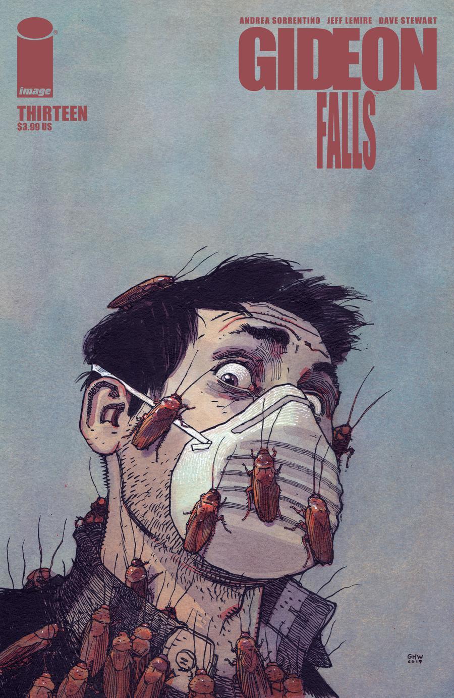 Gideon Falls #13 Cover B Variant Gabriel Walta Cover
