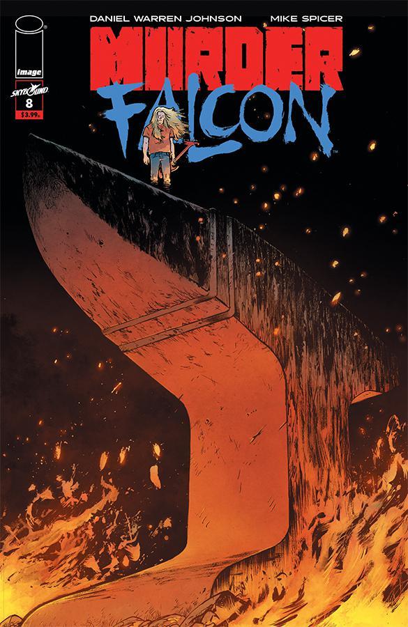 Murder Falcon #8 Cover A Regular Daniel Warren Johnson & Mike Spicer Cover