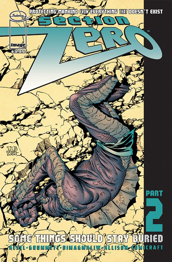Section Zero Vol 2 #2 Cover A Regular Tom Grummett & Karl Kesel Cover