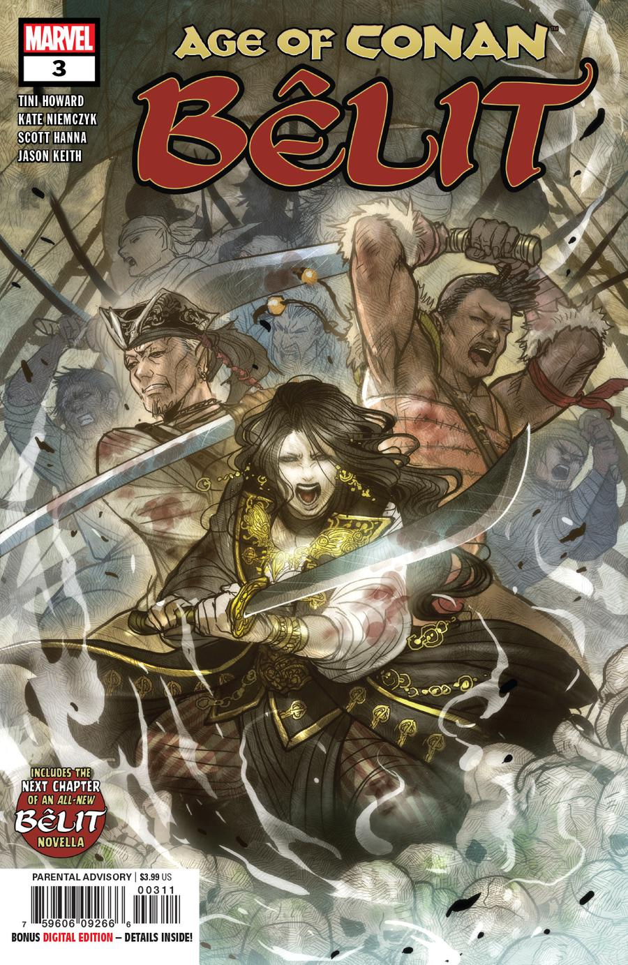 Age Of Conan Belit Queen Of The Black Coast #3 Cover A Regular Sana Takeda Cover