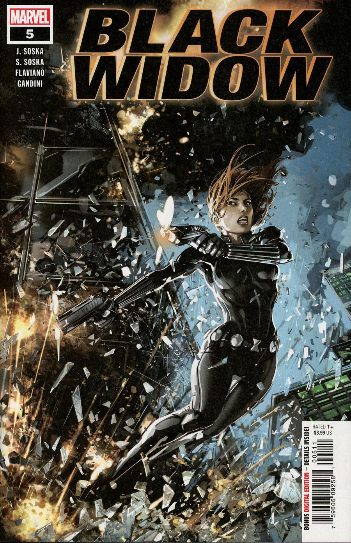 Black Widow Vol 7 #5 Cover A Regular Clayton Crain Cover