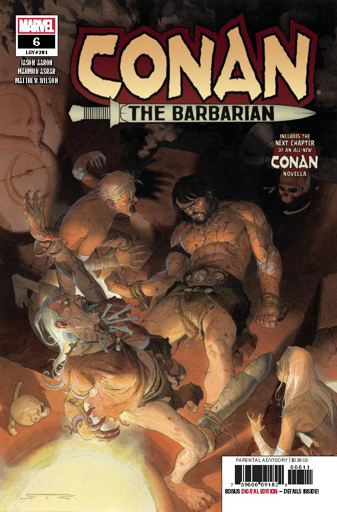 Conan The Barbarian Vol 4 #6 Cover A Regular Esad Ribic Cover