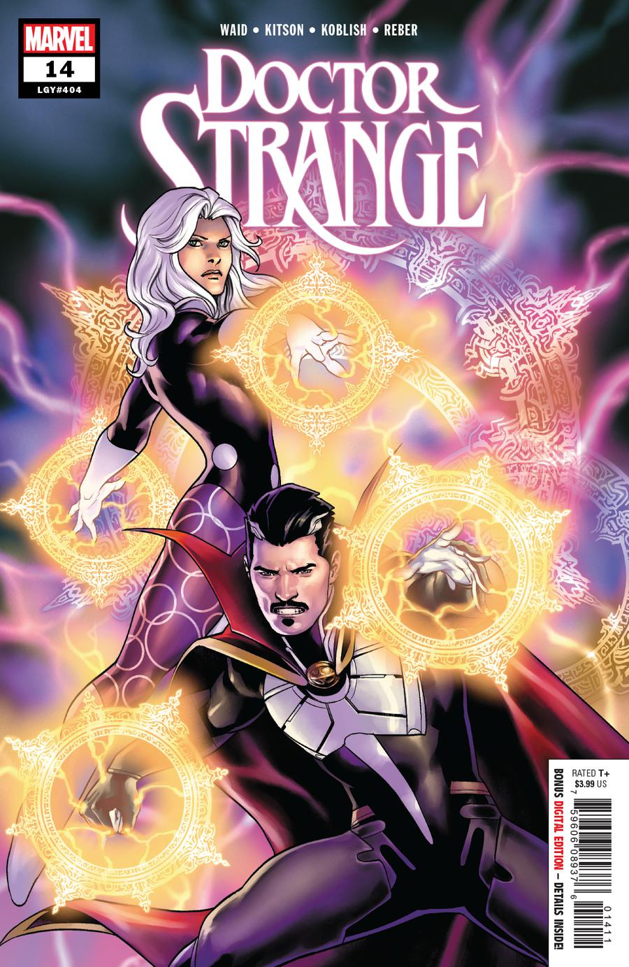 Doctor Strange Vol 5 #14 Cover A Regular Jesus Saiz Cover