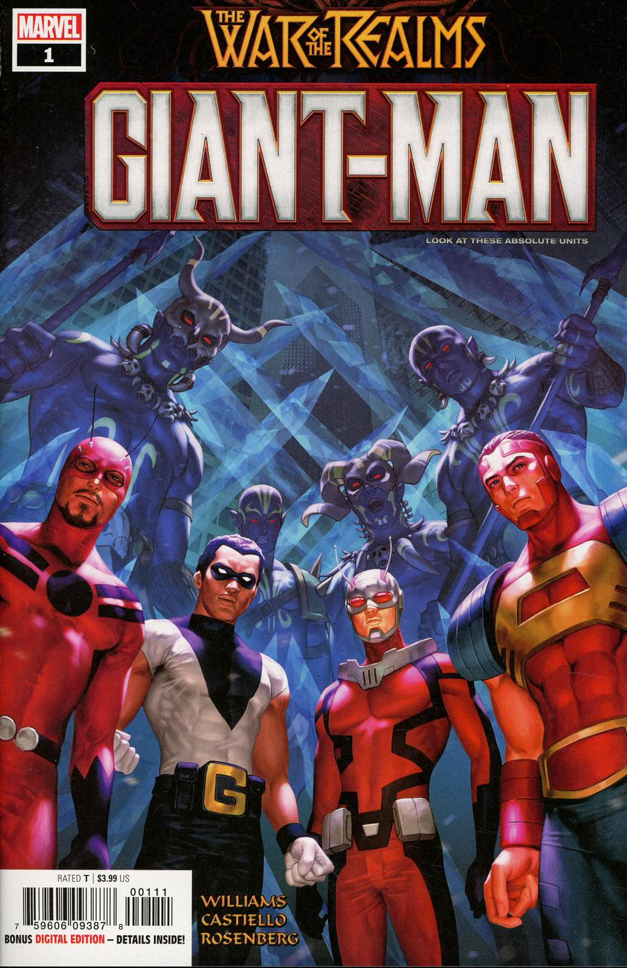Giant-Man #1 Cover A Regular Woo Cheol Cover (War Of The Realms Tie-In)