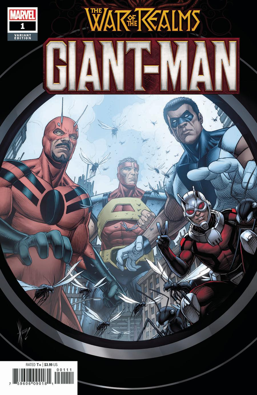 Giant-Man #1 Cover B Variant Dale Keown Cover (War Of The Realms Tie-In)