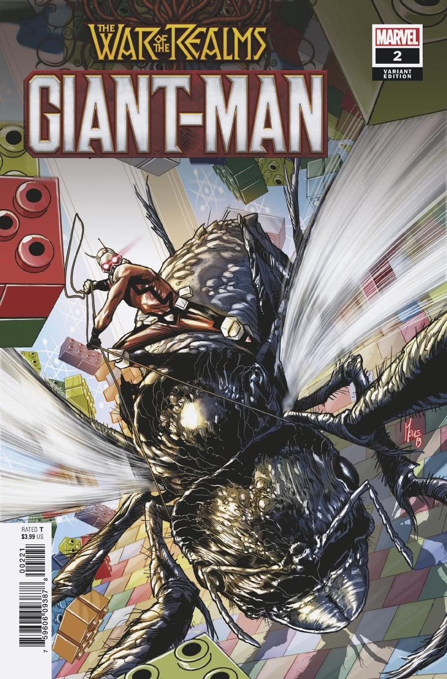 Giant-Man #2 Cover B Variant Marco Checchetto Cover (War Of The Realms Tie-In)