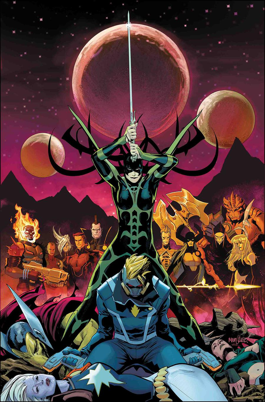 Guardians Of The Galaxy Vol 5 #5 Cover A 1st Ptg Regular David Marquez Cover