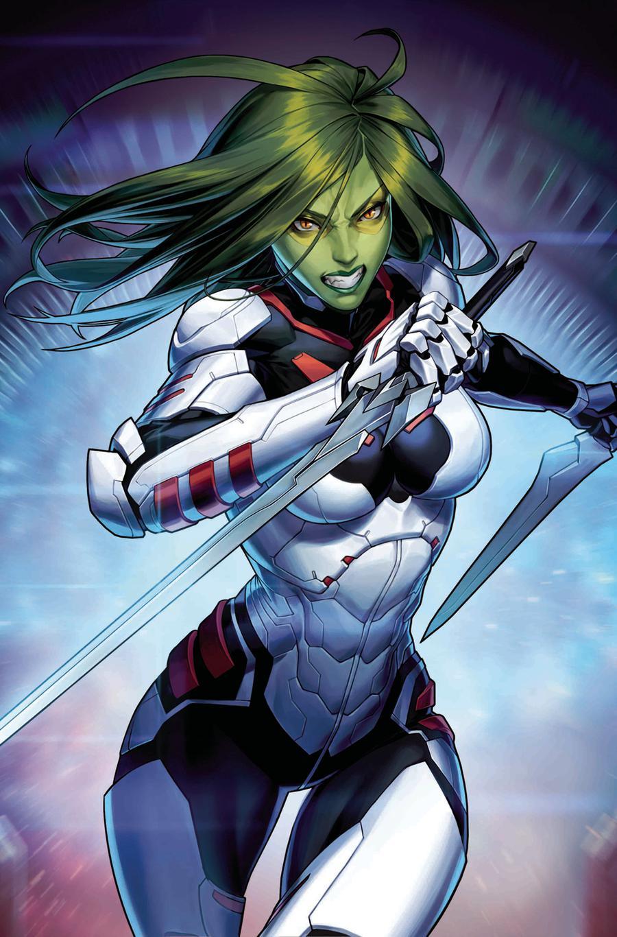 Guardians Of The Galaxy Vol 5 #5 Cover B Variant Jongju Kim Marvel Battle Lines Cover