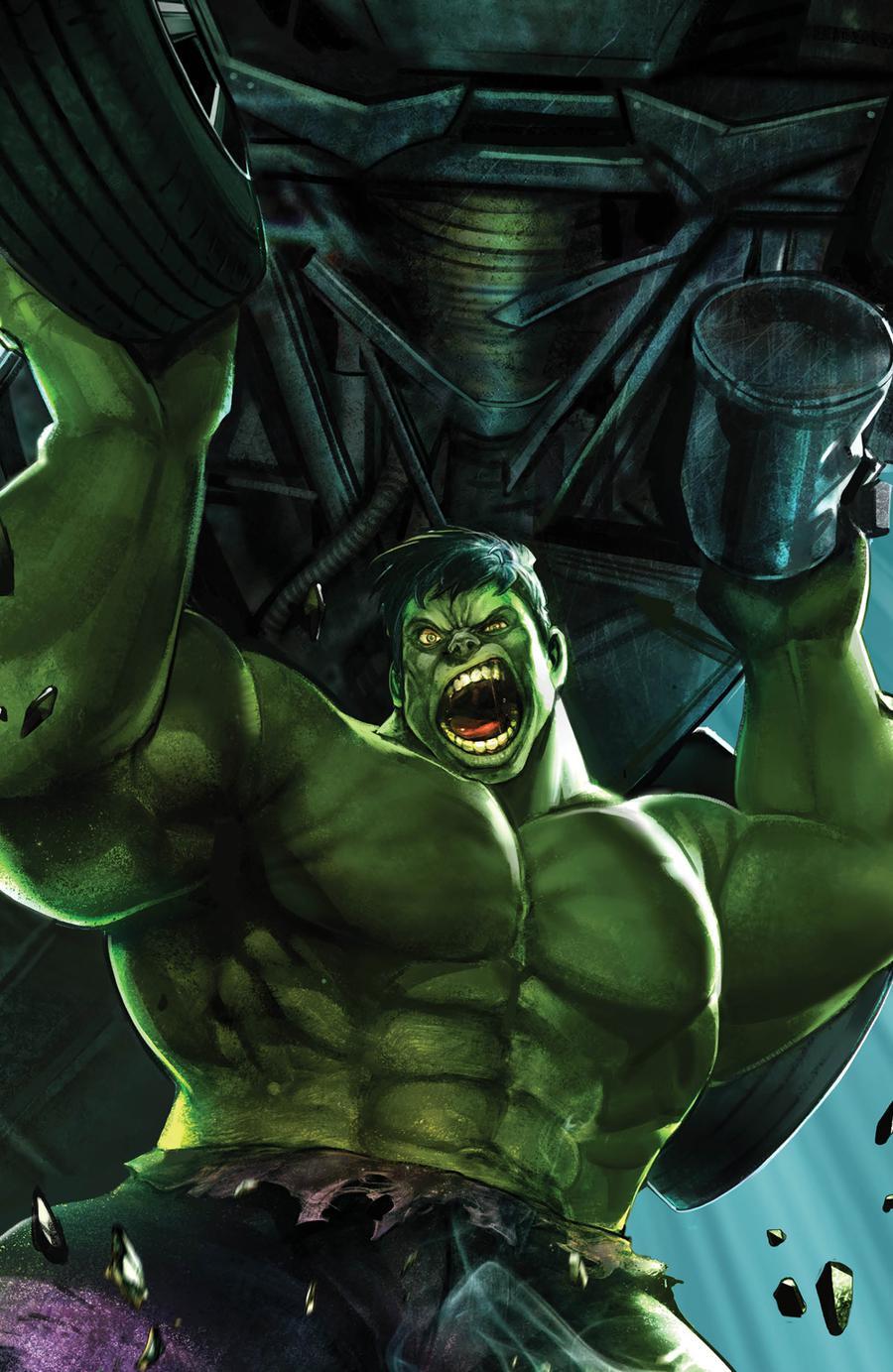 Immortal Hulk #17 Cover B Variant Heyjin Im Marvel Battle Lines Cover