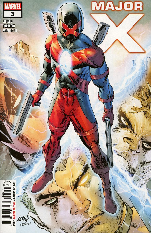 Major X #3 Cover A 1st Ptg