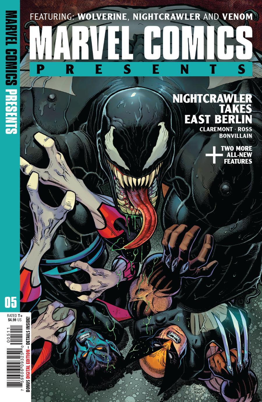 Marvel Comics Presents Vol 3 #5 Cover A Regular Arthur Adams Cover