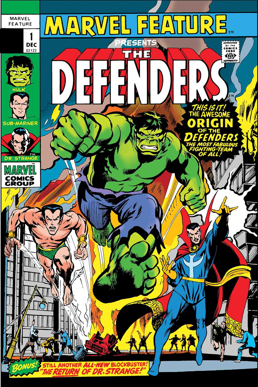 Marvel Feature #1 Cover B Defenders Facsimile Edition