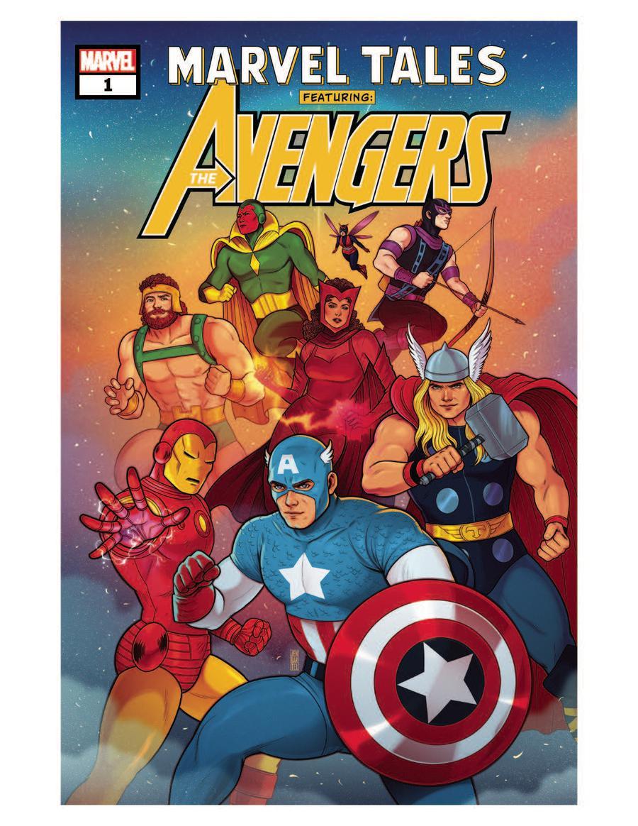 Marvel Tales Avengers #1 Cover A Regular Jen Bartel Cover