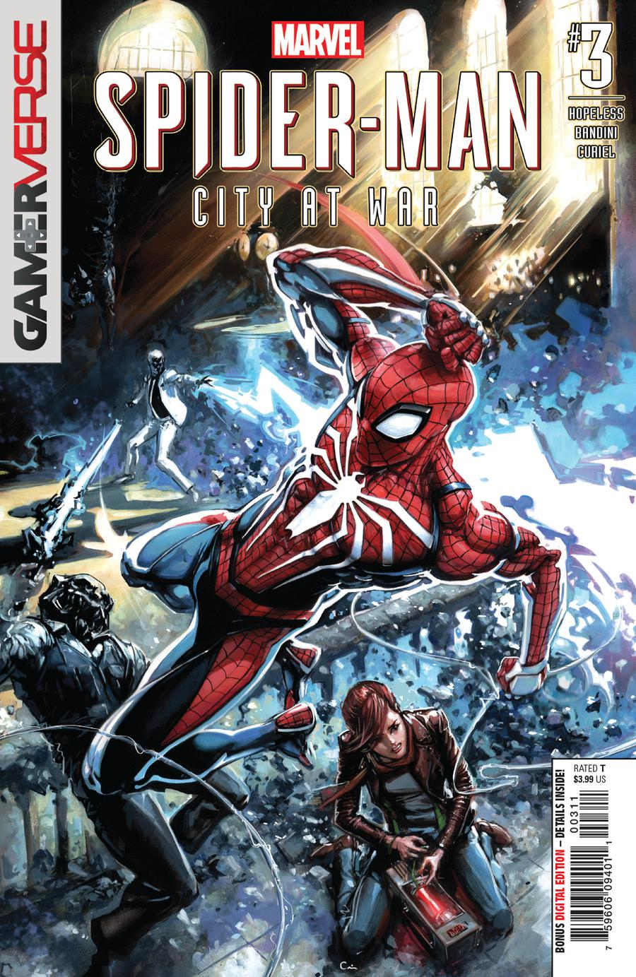 Marvels Spider-Man City At War #3 Cover A Regular Clayton Crain Cover