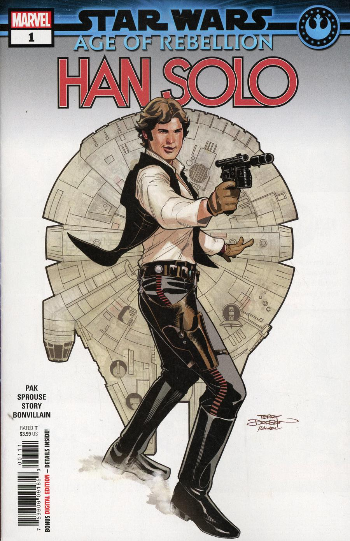 Star Wars Age Of Rebellion Han Solo #1 Cover A 1st Ptg Regular Terry Dodson & Rachel Dodson Cover