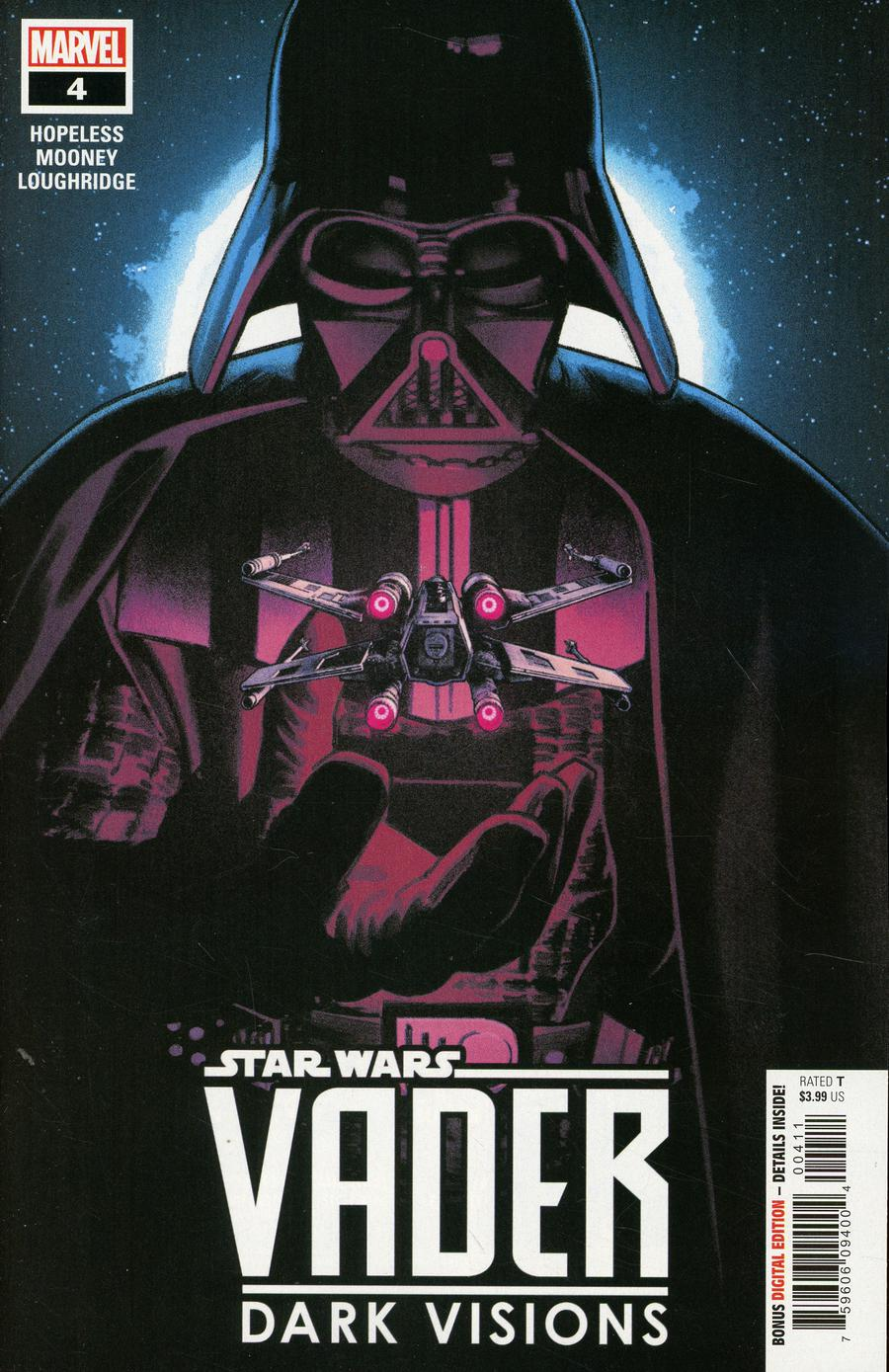 Star Wars Vader Dark Visions #4 Cover A Regular Greg Smallwood Cover