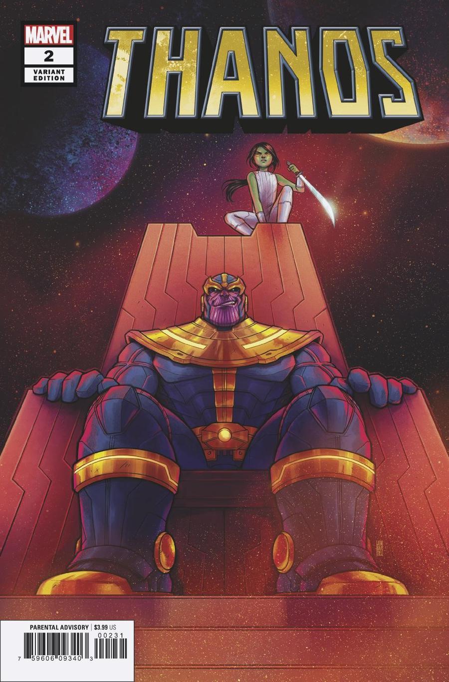 Thanos Vol 3 #2 Cover B Variant Jen Bartel Cover