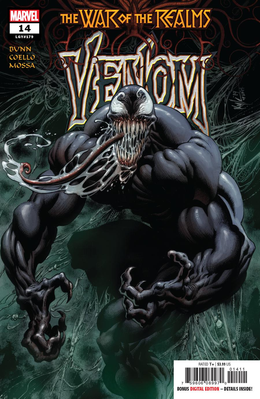Venom Vol 4 #14 Cover A 1st Ptg Regular Kyle Hotz Cover (War Of The Realms Tie-In)