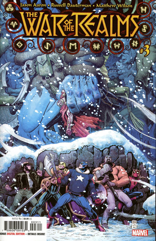 War Of The Realms #3 Cover A 1st Ptg Regular Arthur Adams & Matthew Wilson Cover