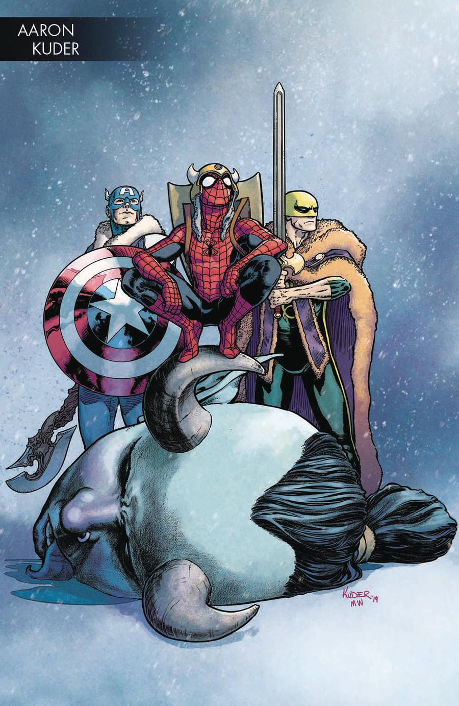 War Of The Realms #4 Cover B Variant Aaron Kuder Young Guns Cover
