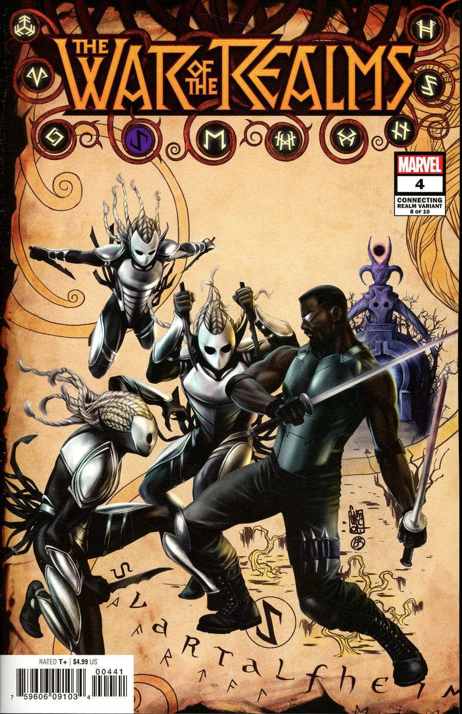 War Of The Realms #4 Cover C Variant Giuseppe Camuncoli Connecting Realm Cover