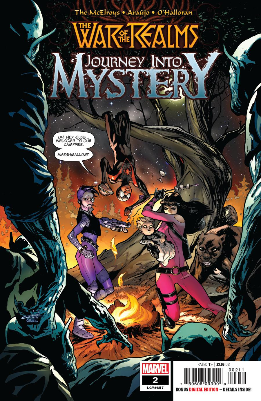 War Of The Realms Journey Into Mystery #2 Cover A 1st Ptg Regular Valerio Schiti & David Curiel Cover
