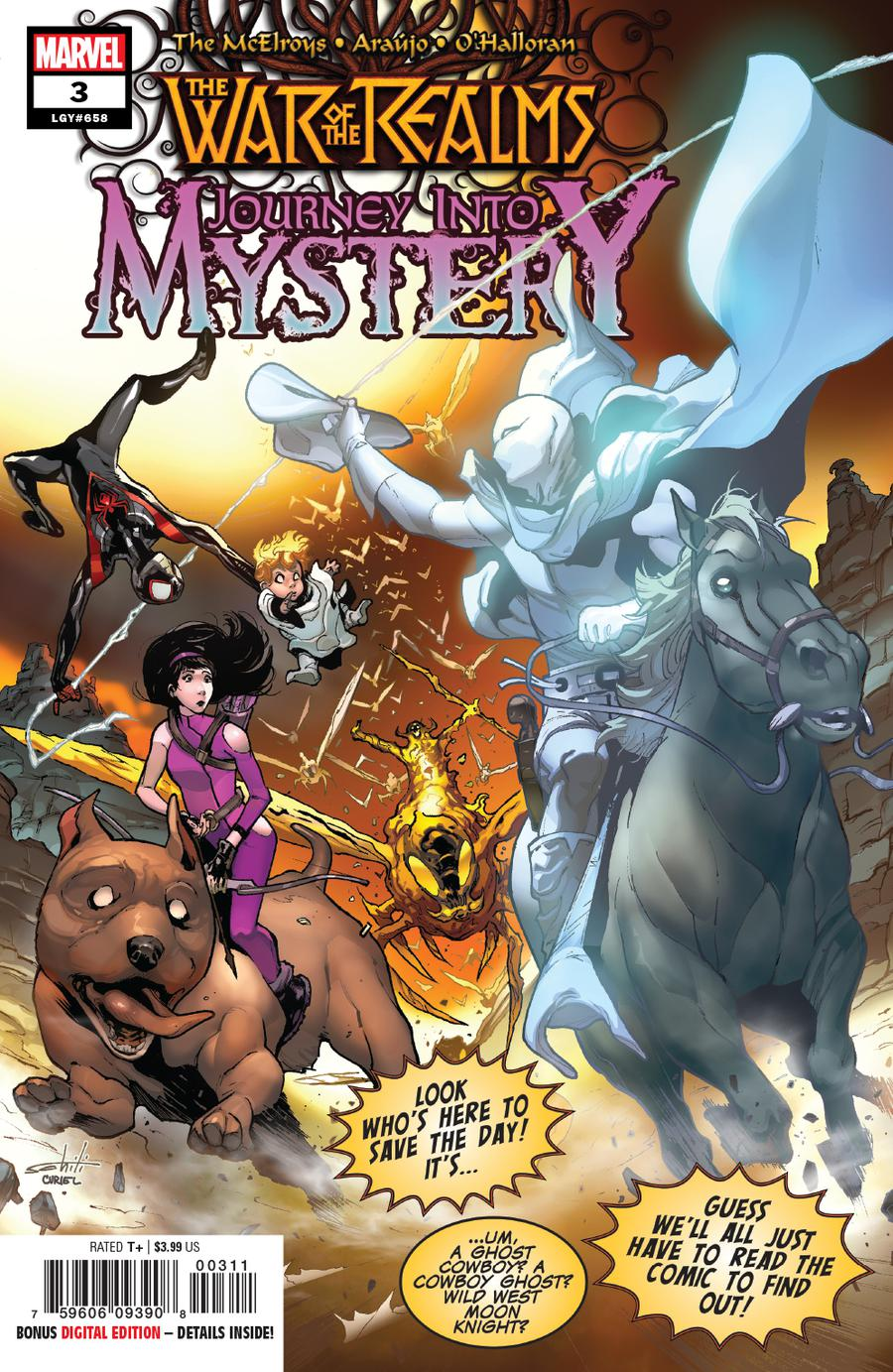 War Of The Realms Journey Into Mystery #3 Cover A Regular Valerio Schiti & David Curiel Cover