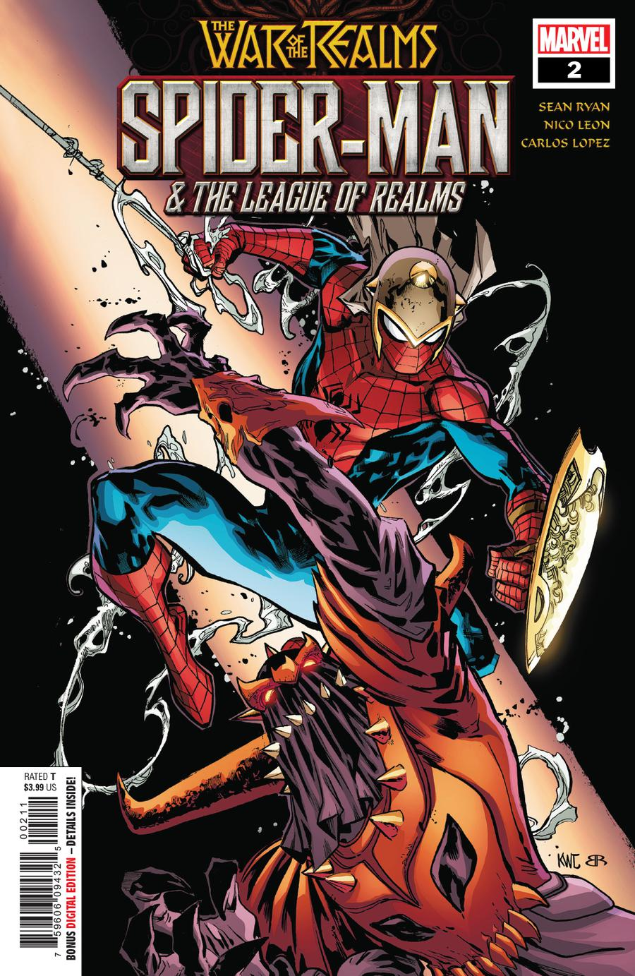 War Of The Realms Spider-Man And The League Of Realms #2 Cover A Regular Ken Lashley Cover